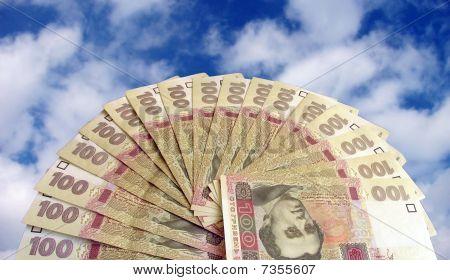 cash over sky