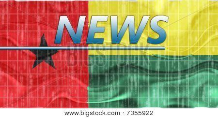 Flag Of Guinea Bissau Wavy News