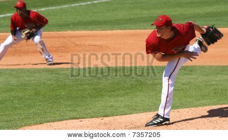 Arizona Diamondbacks pitcher Aaron Heilman