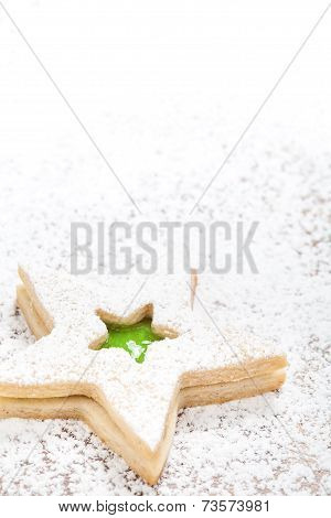 Christmas Star Cookie