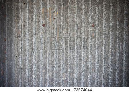 Galvanized Iron Wall Background