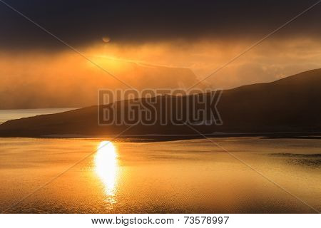 Evening Landscape Of Northern Norway
