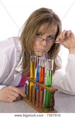 Angry Teacher Science