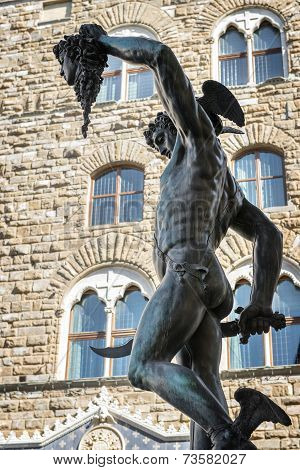 Sculpture Perseus Medusa