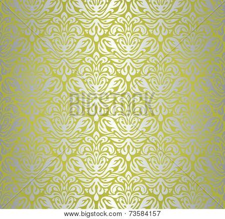 Green  & Silver Vintage Design