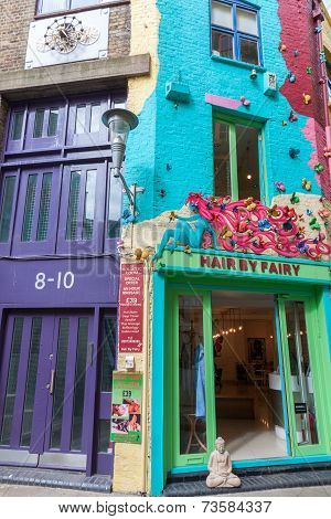 Houses At Neal's Yard In London