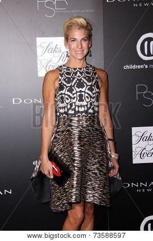LOS ANGELES - OCT 8:  Jessica Seinfeld at the 5th Annual PSLA Autumn Party at 3LABS on October 8, 2014 in Culver City, CA