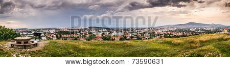 Panorama Of The City Of Nitra