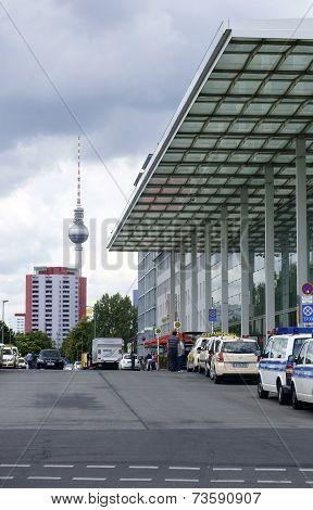 Berlin East Railway station