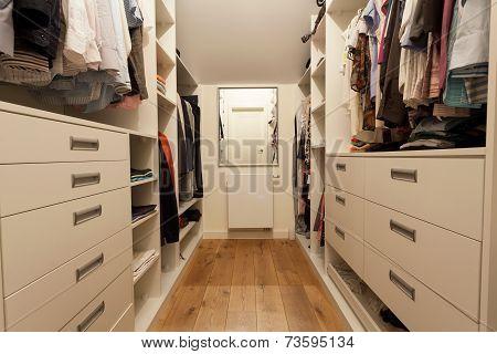 Big Wardrobe In New House