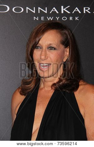 LOS ANGELES - OCT 8:  Donna Karan at the 5th Annual PSLA Autumn Party at 3LABS on October 8, 2014 in Culver City, CA