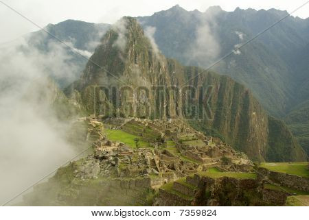 Machu Picchu In The Early Morning