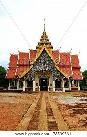 Wat Phra Baht Tak Pha Lamphun Thailand