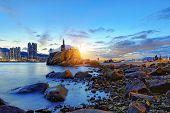 stock photo of tong  - Hong Kong Sunset - JPG