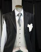 stock photo of ceremonial clothing  - Ceremony handmade man Suit technique model taiolor - JPG