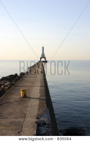 Lighthouse Breakwater
