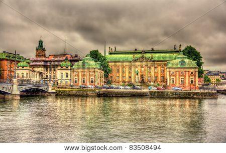 House Of Nobility - Riddarhuset In Stockholm, Sweden