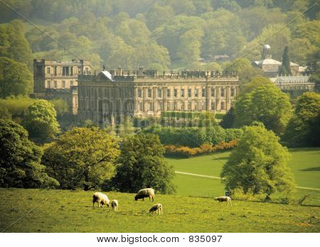 england derbyshire chatsworth house