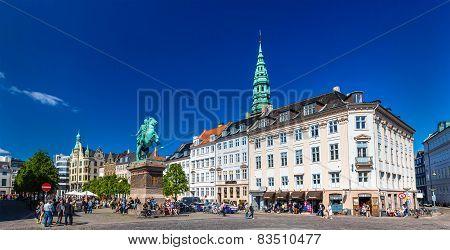 Hojbro Plads square in Copenhagen