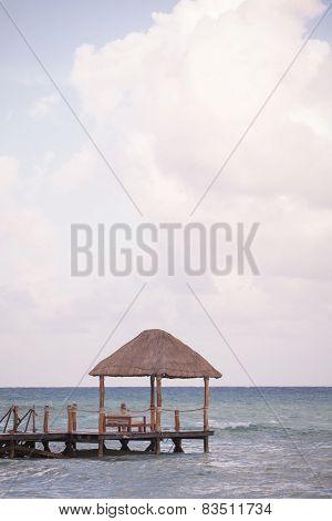 Tropical Beach Cabana