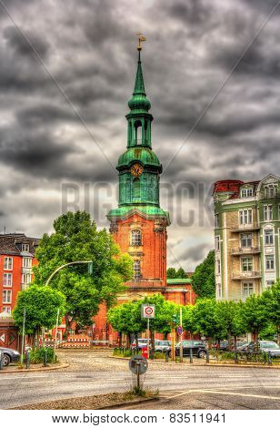 ?hurch Of St. George In Hamburg - Germany