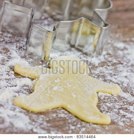 baking cookies