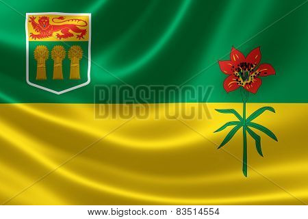 Saskatchewan Provincial Flag Of Canada