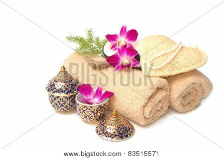 Thai Spa Massage Setting
