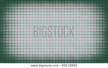 Green Vintage Lined Paper Background