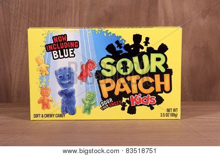 Box Of Sour Patch Kids Candy