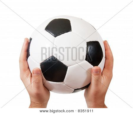 Male Holding Ball
