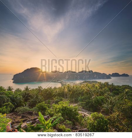 Travel vacation background