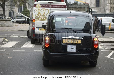 Taxi in Westminster