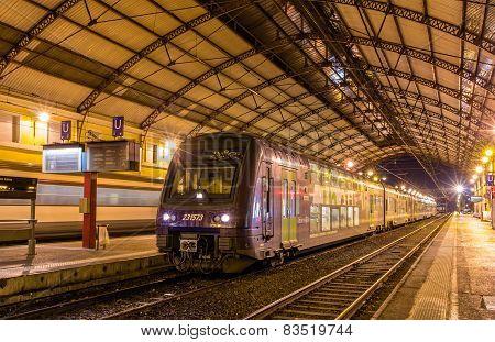 Regional Train Ter 2N At Avignon Station On January 2, 2014