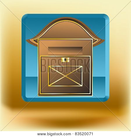 Icon With Mail Box
