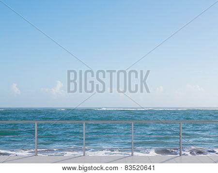Balcony Near Sea