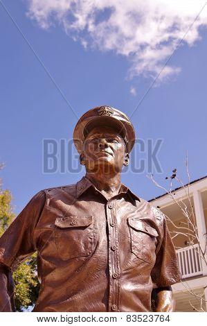 Bronze Statue of Admiral Chester W. Nimitz