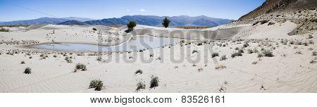 Sand Dunes Of Tibet