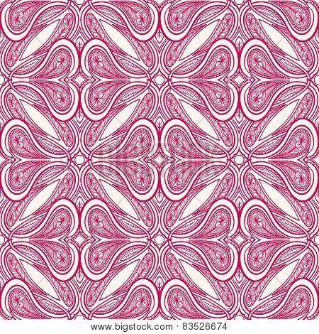 Pink Vintage Pattern