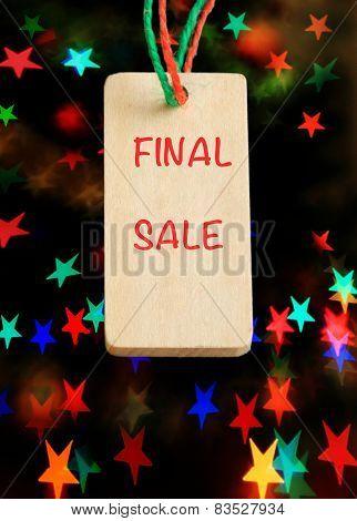 final sale sign