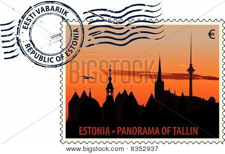 Postmark from Estonia