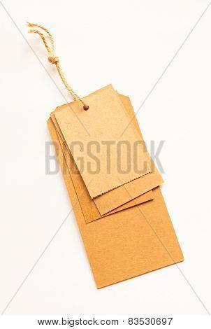 Retro style cardboard vintage sale labels