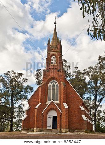 Church in Australian Bush