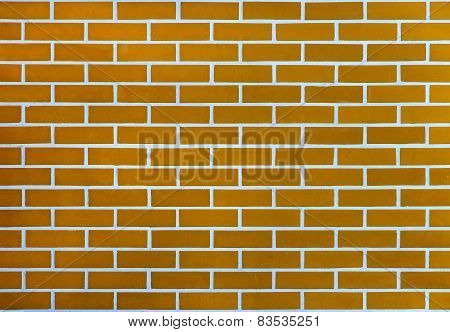 Red Brick Wall For Background