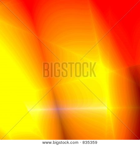 Red-yellow abstract