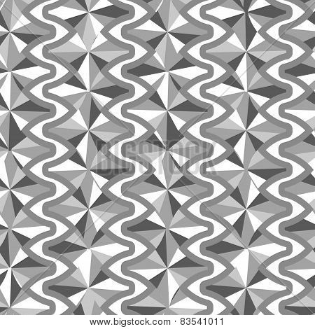 Gray Triangle Pattern