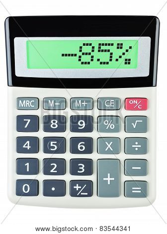 Calculator With -85
