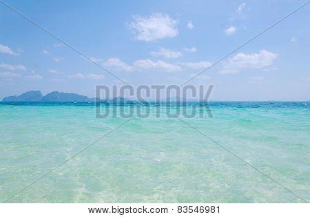 Tropical Beach Andaman Sea, Thailand.