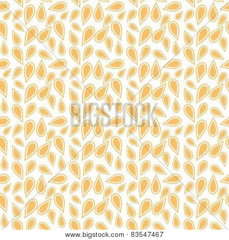 Tribal pattern in yellow color