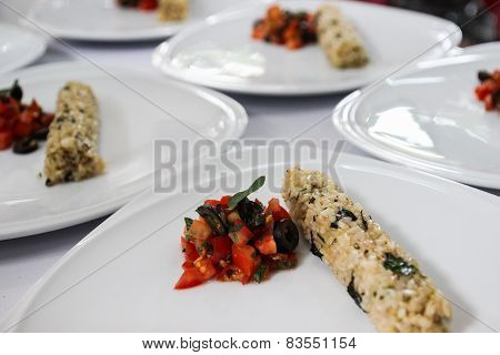 Stir Fry Tomato And Mushroom With Brown Rice